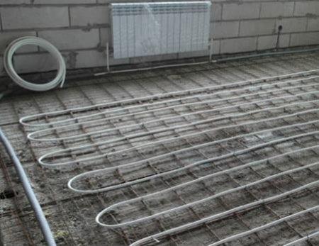 Правильна відстань між трубами теплої підлоги
