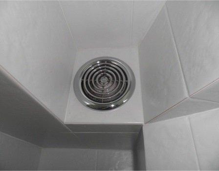 Безшумна витяжка у ванну і