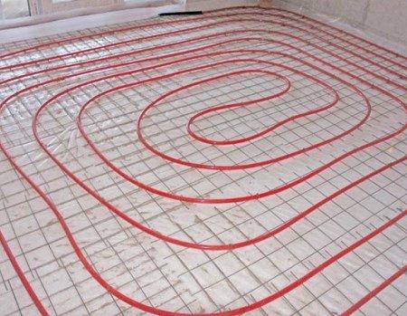 Опалення від теплої підлоги
