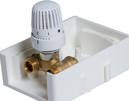 Термостатичний клапан для