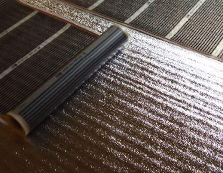 Підкладка під теплу підлогу