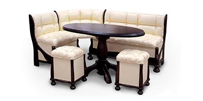 М'які меблі для кухні: нюанси