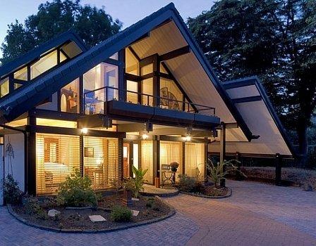 Деревянный каркасный дом: