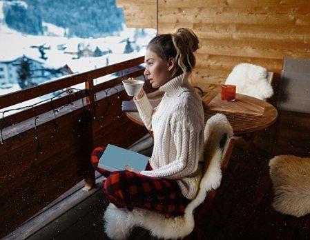 Как использовать балкон или террасу в холодное время года