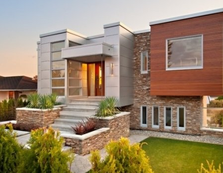 Наиболее подходящие отделочные материалы для фасадов
